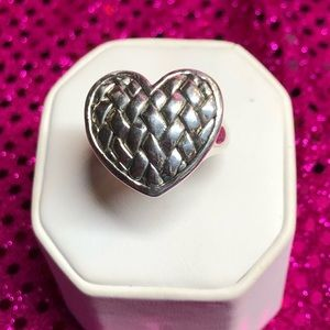 🎉Sterling Silver Heart Ring